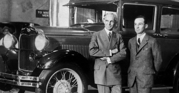 https://www.macsmotorcitygarage.com/video-edsel-and-henry-ford-unveil-the-1928-model-a/