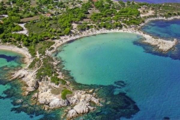 Οι μαγευτικές παραλίες της Χαλκιδικής