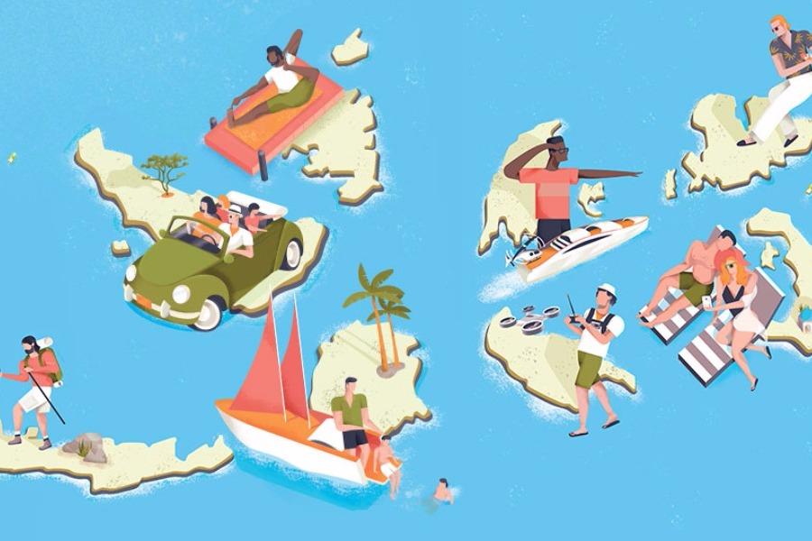 5 κουίζ για τα ελληνικά νησιά