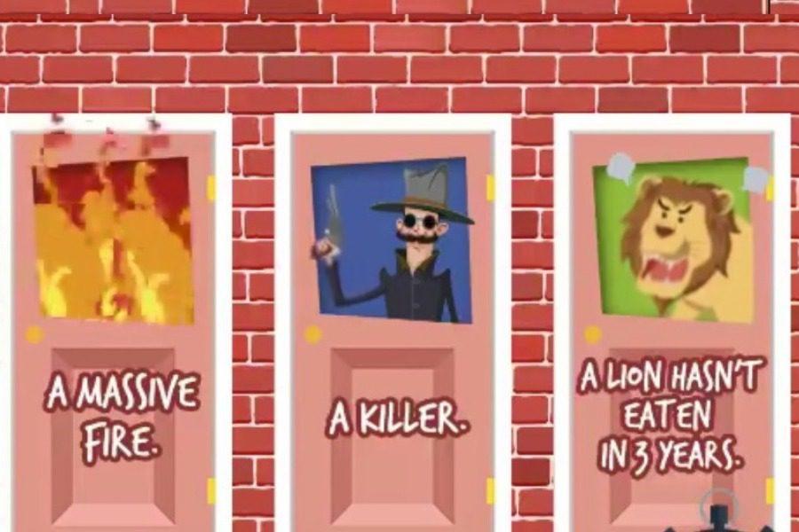 Τεστ παρατηρητικότητας: Ποια πόρτα είναι η ασφαλής;
