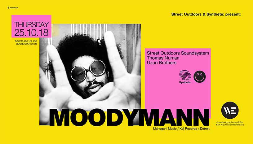 Street Outdoors & Synthetic w/ Moodymann