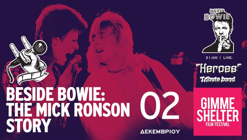 Beside Bowie ‑ The Mick Ronson Story: Μια ταινίαν ‑ φόρος τιμής στον Mick Ronson