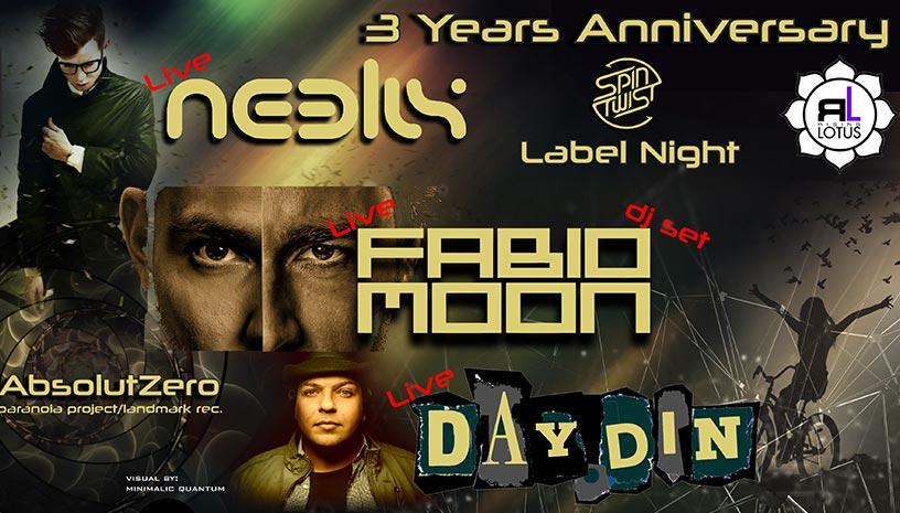 Neelix /Fabio & Moon /Day Din στο Block 33
