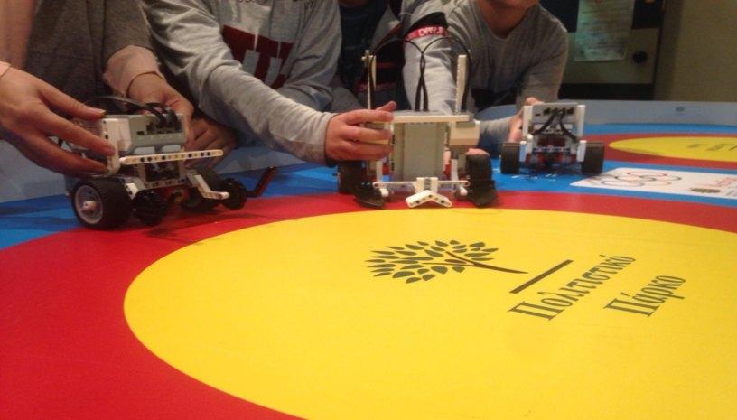 Η Ακαδημία Ρομποτικής παρουσιάζει τους «Μικρούς Αυτοματιστές»