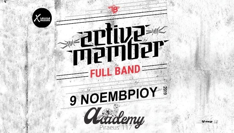 ACTIVE MEMBER Full Band