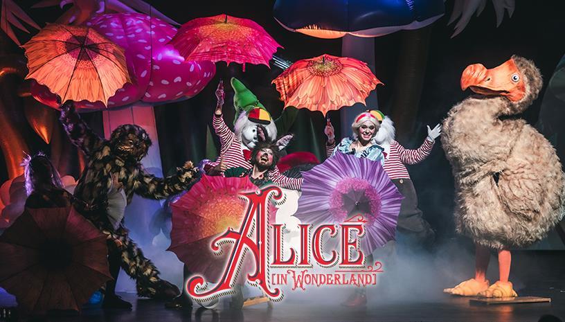 Η Αλίκη στη Χώρα των Θαυμάτων: Μια παράσταση για όλην την οικογένεια