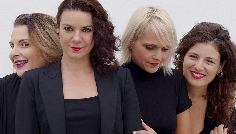 Ανδριάνα Μπάμπαλη με τις Quarderinas Quartet στο Μέγαρο Μουσικής Θεσσαλονίκης