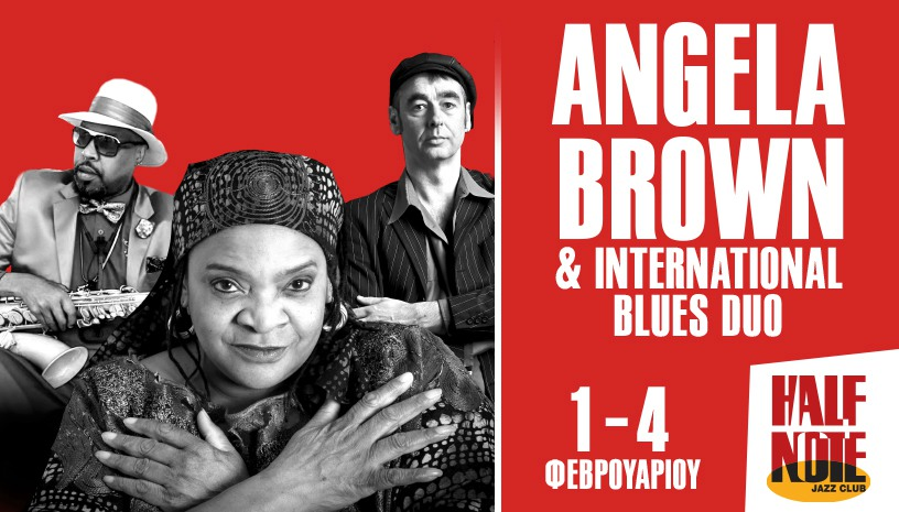 ANGELA BROWN & INTERNATIONAL BLUES DUO