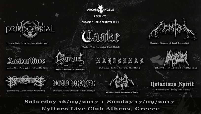 Arcane Angels Fest II, στο Κύτταρο