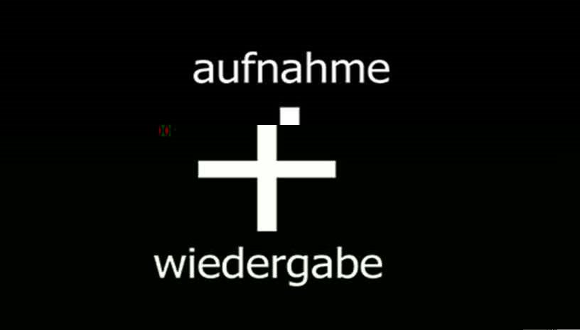 AUFNAHME + WIEDERGABE TECHNO PARTY