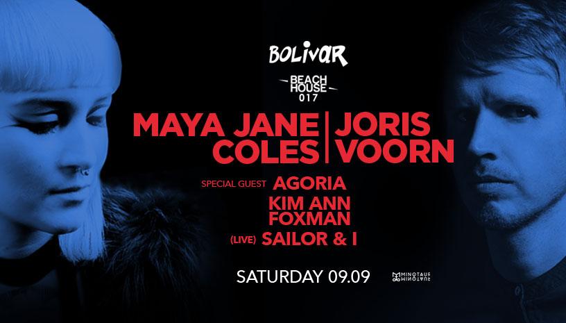 Beach House Festival 017: Maya Jane Coles ‑ Joris Voorn