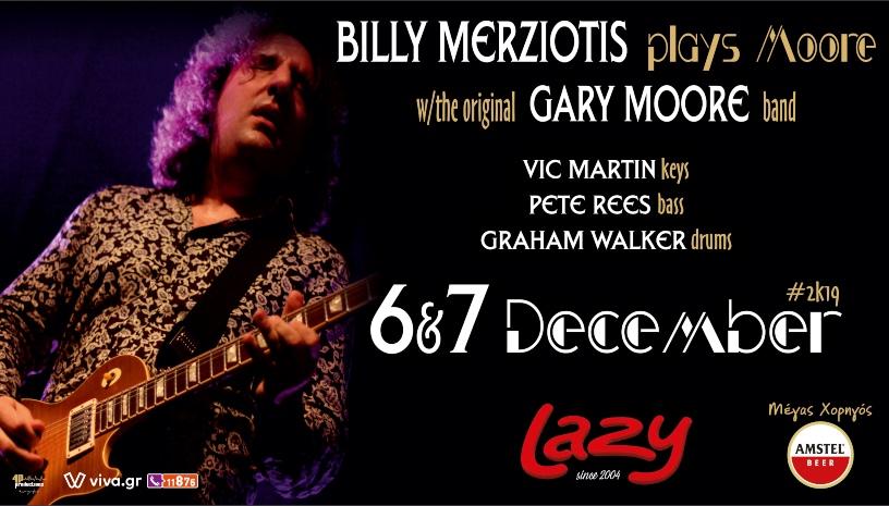 Billy Merziotis & The Gary Moore Band