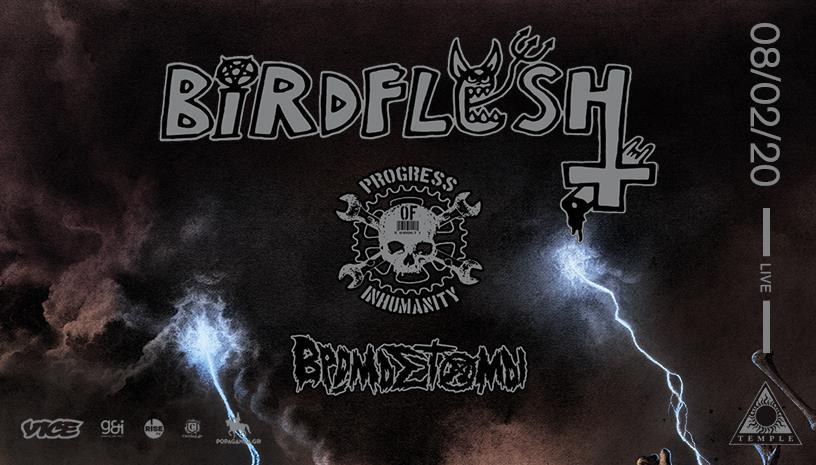 Οι Birdflesh ζωντανά στην Αθήνα