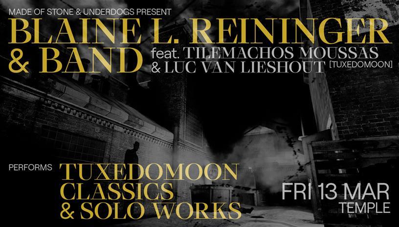O Blaine L. Reininger των Tuxedomoon έρχεται στην Αθήνα
