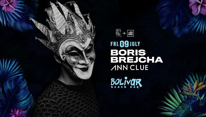 Boris Brejcha -  Friday 9 July  - Bolivar Beach Bar
