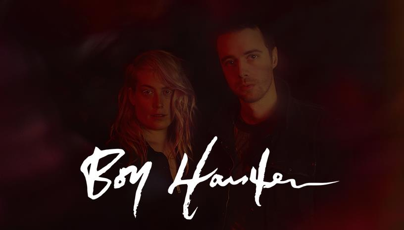 Boy Harsher (USA) live at Temple