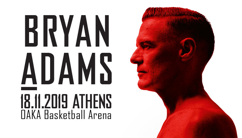 Bryan Adams Shine A Light Live in Athens