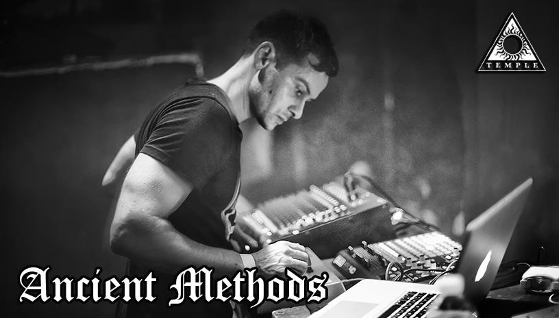 Clubnight with Ancient Methods at Temple