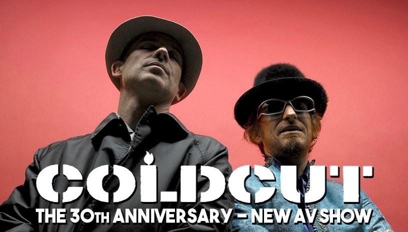 Coldcut 30 year AV show @Gagarin 205