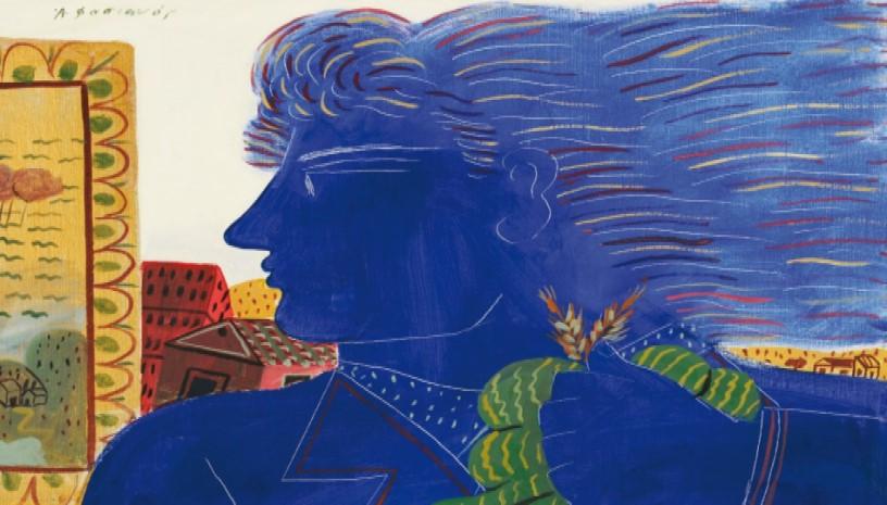 ΕΚΘΕΣΗ: Αλέκος Φασιανός‑Βαγγέλης Χρόνης | 30 χρόνια φιλίας: Ζωγραφική και ποίηση