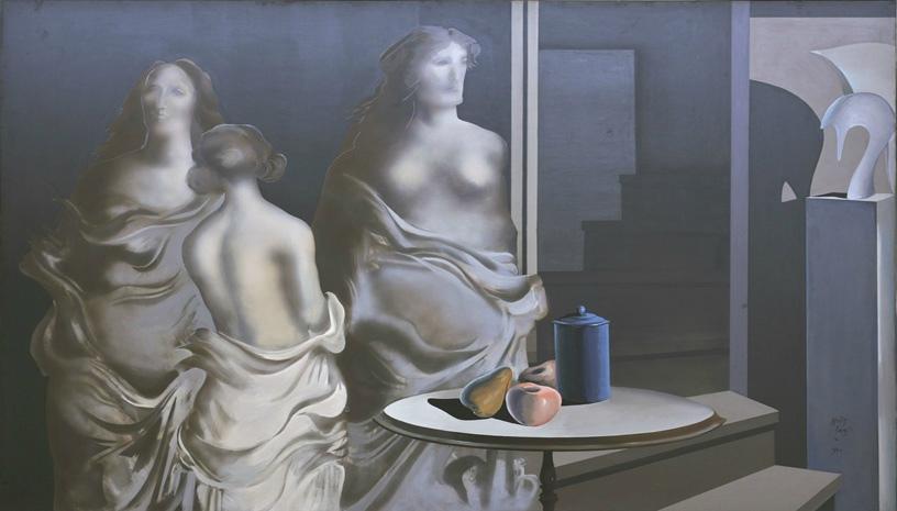 Η έκθεση Αρωμα Γυναίκας στην Ελληνική Ζωγραφική φιλοξενείται στο Ίδρυμα Θεοχαράκη