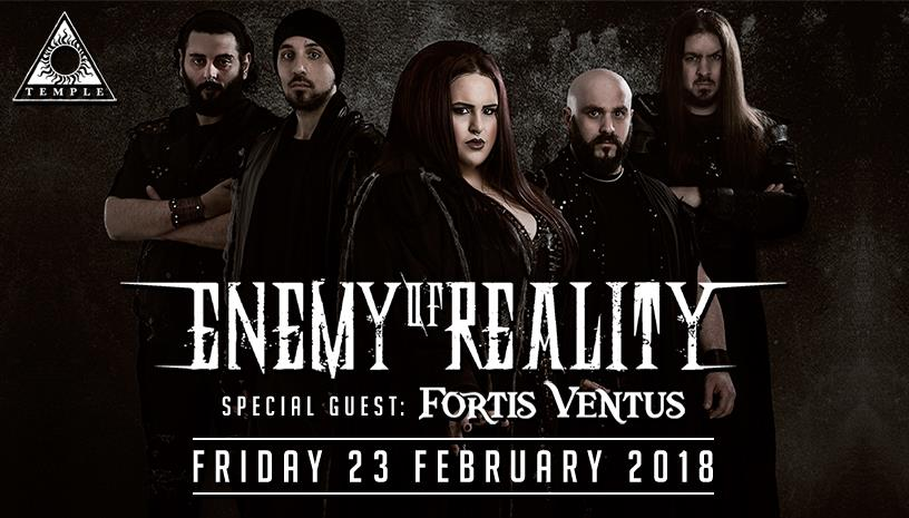 Enemy of Reality & Fortis Ventus at Temple