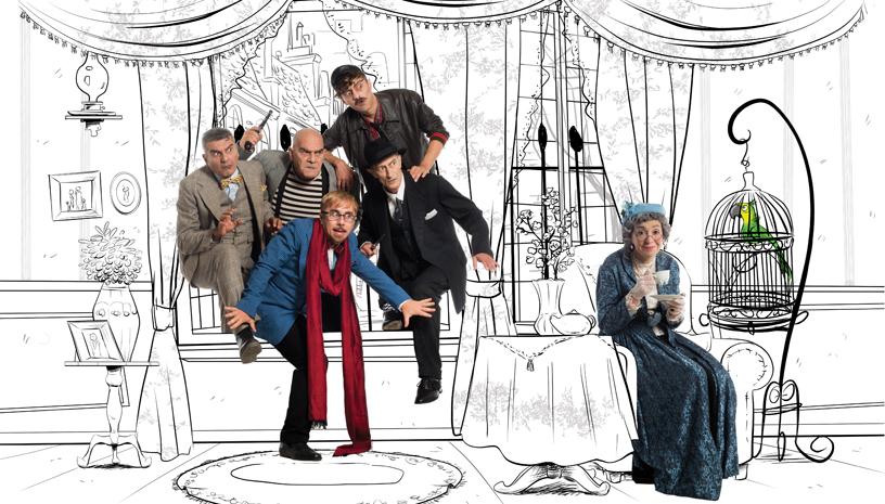 «Η Συμμορία των Πέντε» η απόλυτη μαύρη κωμωδία για πρώτη φορά στην Ελλάδα!