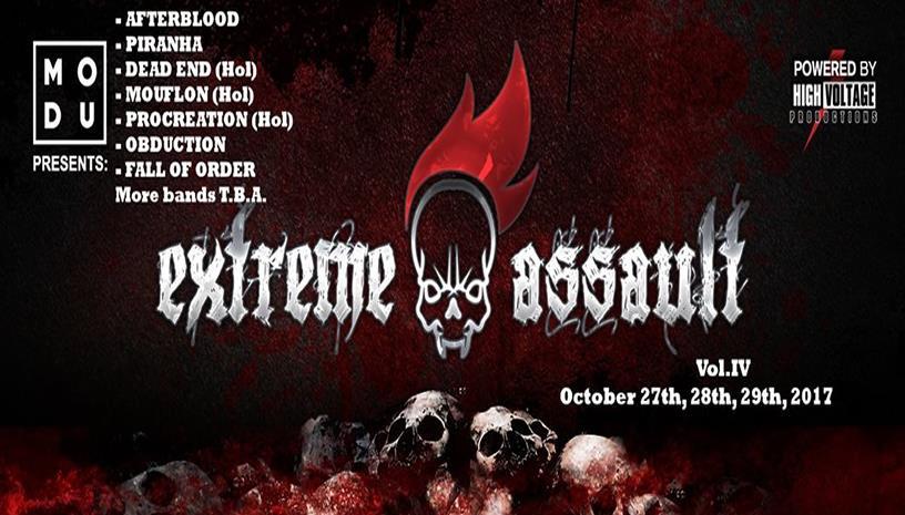 Extreme Assault Festival IV: Death, Thrash, Black Metal για όσους αντέχουν!