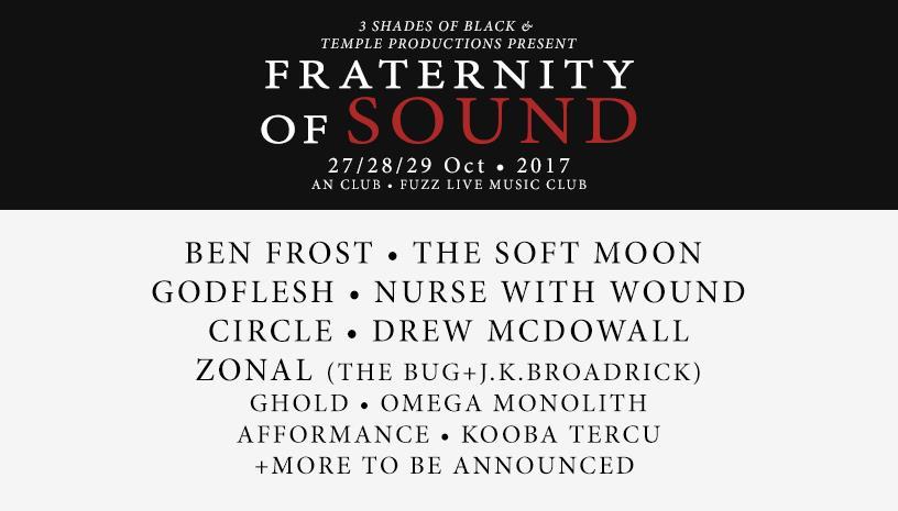 Fraternity of Sound 2017, το νέο φεστιβάλ που έρχεται για να κατακτήσει την Αθήνα!