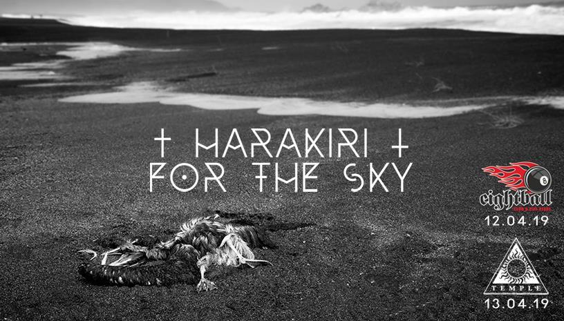 HARAKIRI FOR THE SKY live in Greece