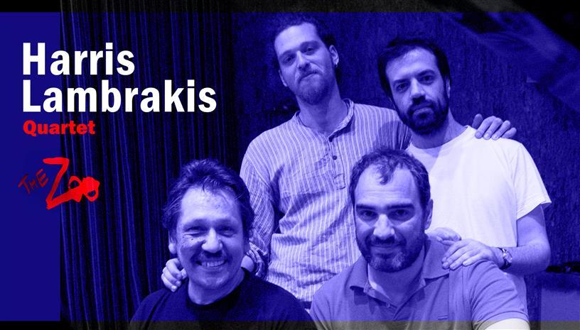 Το Χάρης Λαμπράκης Quartet ξεκινά τις ζωντανές του εμφανίσεις στο The Zoo
