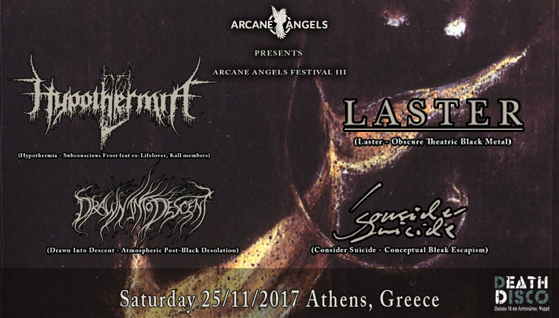 HYPOTHERMIA, LASTER + MORE in Athens