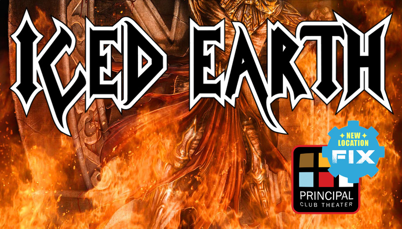 Οι Iced Earth τον Ιανουάριο στη Θεσσαλονίκη!