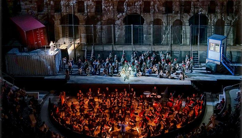 Η διάσημη όπερα «Κάρμεν» επιστρέφει στο Ηρώδειο