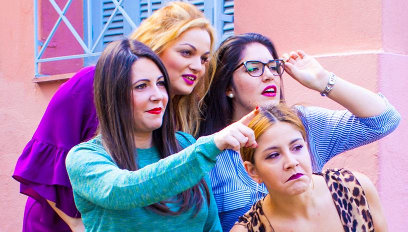 """Las idiotas"" της Analia V.Mayta Θεατρική ομάδα ""Fade-Out"""