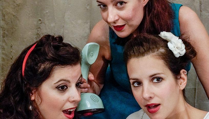 Les Trois Femmes Live