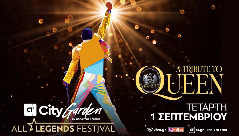 Majesty QUEEN ‑ All Legends Festival