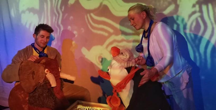 «Μαμά για το Μαμουθάκι» ένα διαδραστικό κουκλοθέατρο για παιδιά 2‑5,5 ετών