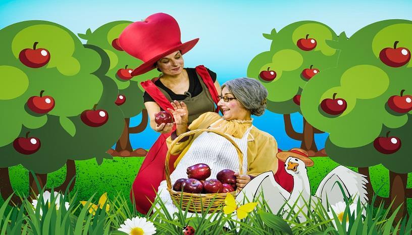 «Μήλα Ζάχαρη Κανέλα»: Ένα έργο για παιδιά