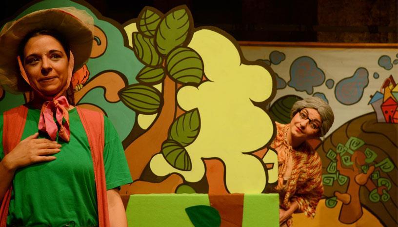 Η παιδική παράσταση «Μήλα Ζάχαρη Κανέλα» για 11η χρονιά στο Θέατρο Φούρνος