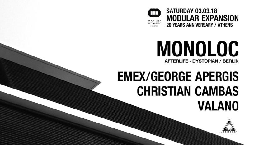 20 Years Modular Expansion: Monoloc - Emex and many more