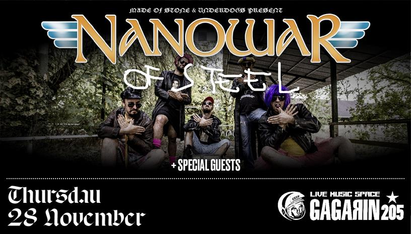 NANOWAR of Steel | live in Athens