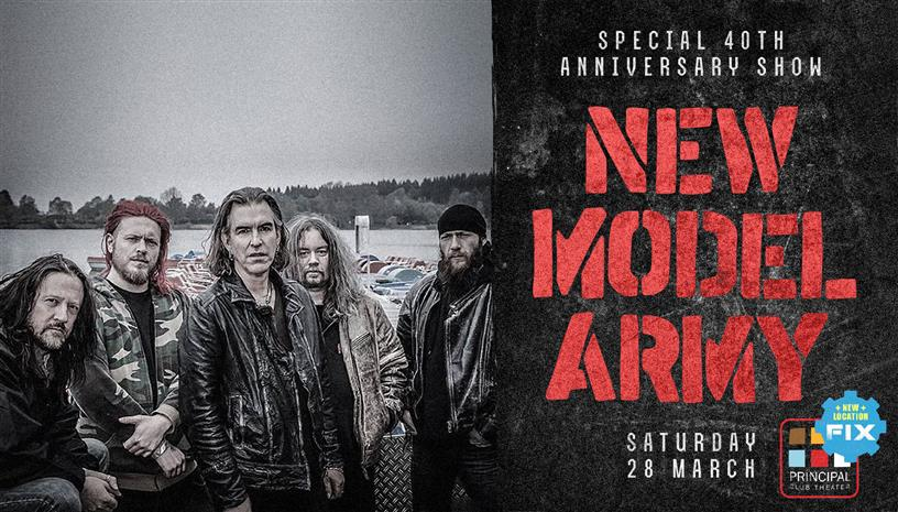 New Model Army 40th Anniversary live Salonica