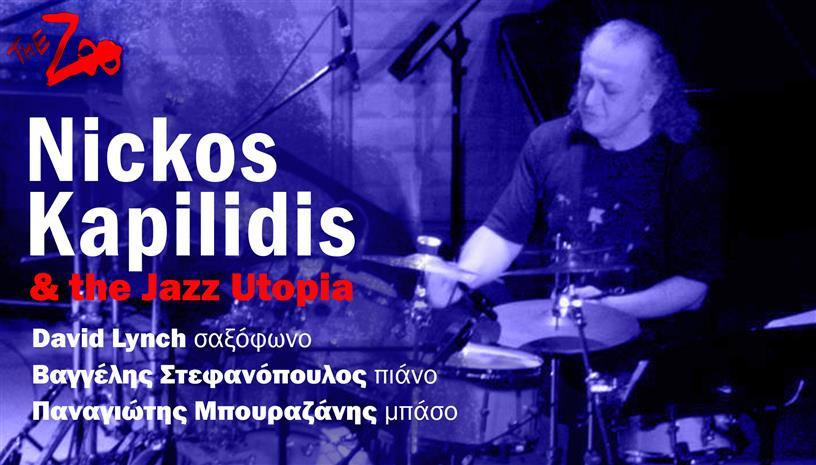Ο Νίκος Καπηλίδης και οι Jazzutopia για μια αξέχαστη βραδιά στο Zoo
