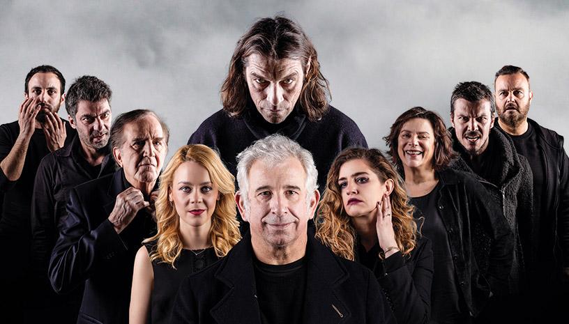 Ο «Ηλίθιος» του Φιοντόρ Ντοστογιέφσκι στοΔημοτικό Θέατρο Πειραιά