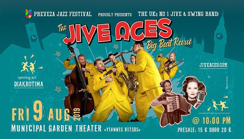 Οι JIVE ACES live στην Πρέβεζα!