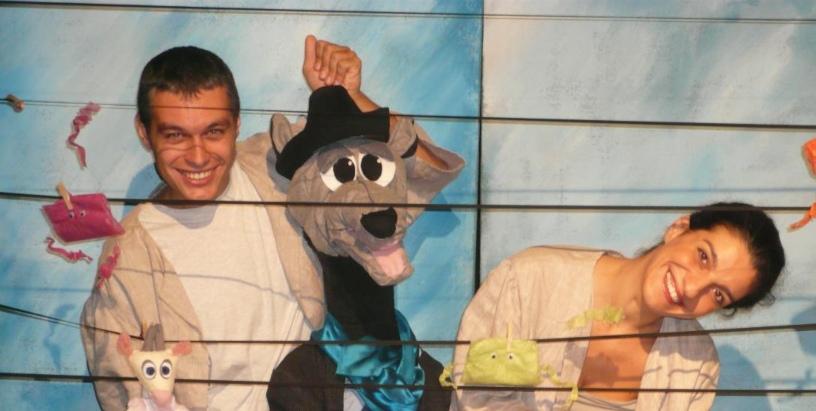 «Ο Λύκος και τα Εφτά Κατσικάκια» ένα κουκλοθεατρικό μιούζικαλ για παιδιά 2-5,5 ετών