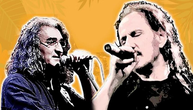 Ο Πάνος Κατσιμίχας και ο Βασίλης Καζούλης τραγουδούν στην Ρόδο