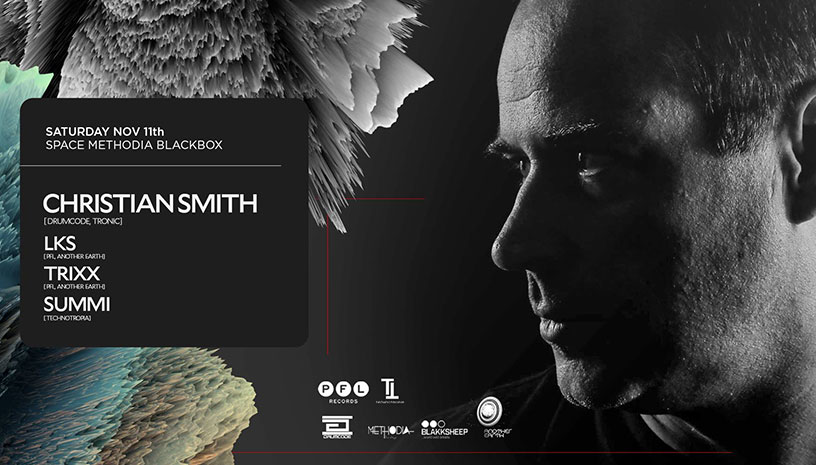 PFL & Technotropia presents Christian Smith