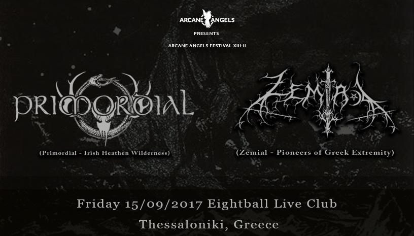 Primordial + Zemial live in Thessaloniki